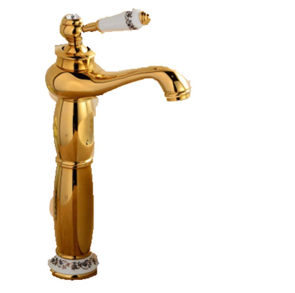 Ldoons Kitchen Bathroom Copper Retro Basin Bathroom Hot And Cold H Faucet
