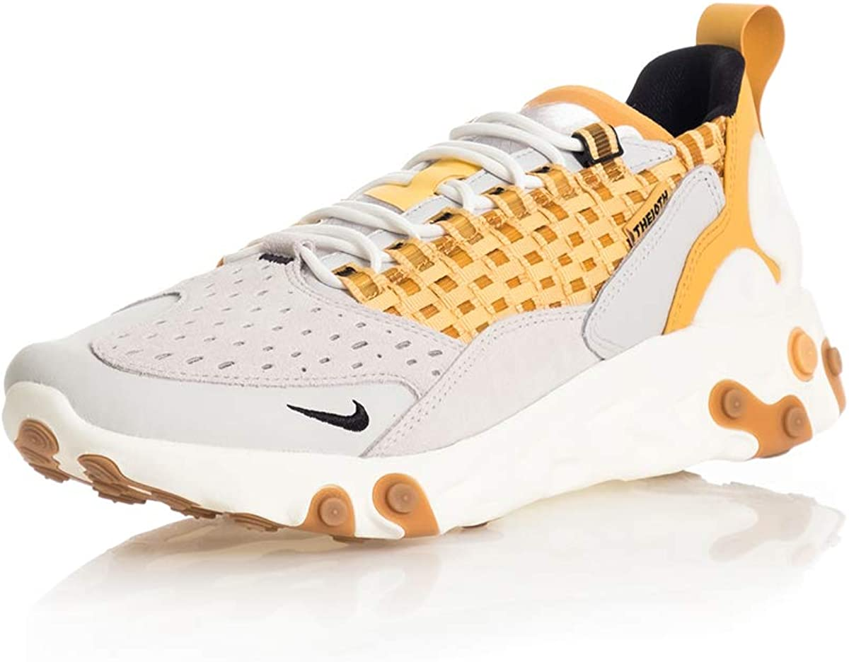 Nike React Sertu, Chaussure De Course Homme Vast Grey Black Lt Smoke Honeycomb