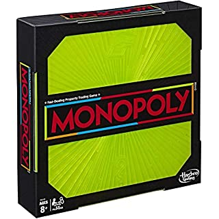 Monopoly Neon Pop Board Game for Kids Ages 8 & Up for 2-6 Players