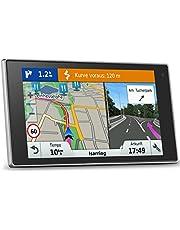 Garmin DriveLuxe 50LMT-D EU 5-calowy nawigacja satelitarna z dożywotnimi aktualizacjami mapy i ruchu cyfrowego dla Wielkiej Brytanii, Irlandii i całej Europy, mocowanie Bluetooth i magnetyczne