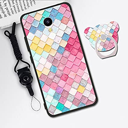 Prevoa ® 丨 Meizu M3 Note Funda - Colorful Silicona Protictive Carcasa Funda Case para Meizu M3 Note 5,5 Pulgadas Smartphone - 7