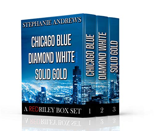 (The Red Riley Adventures Box Set #1: Containing Chicago Blue, Diamond White, and Solid Gold)