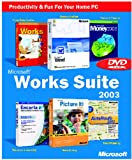 Works Suite 2003 DVD (Word, Money, AutoRoute, Encarta, Picture It, Works)