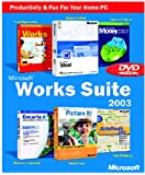 Works Suite 2003 DVD (Word, Money, AutoRoute, Encarta, Picture It, Works)