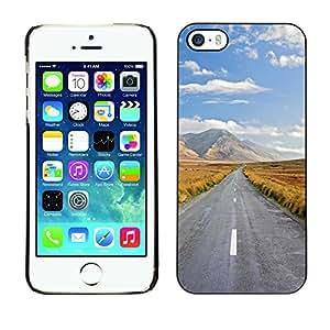 Print Motif Coque de protection Case Cover // V00002672 viaje por delante // Apple iPhone 5 5S 5G