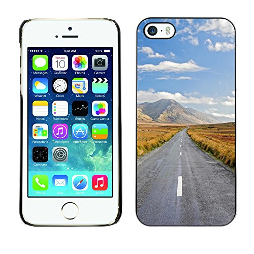Premio Sottile Slim Cassa Custodia Case Cover Shell // V00002672 Journey Ahead // Apple iPhone 5 5S 5G