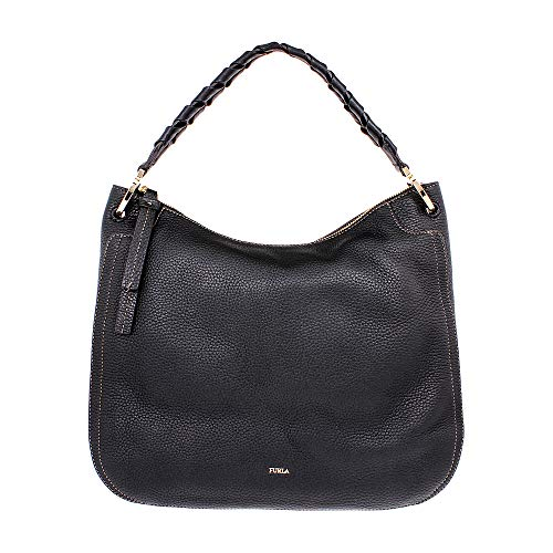 Furla Women's Rialto Large Hobo Onyx One Size