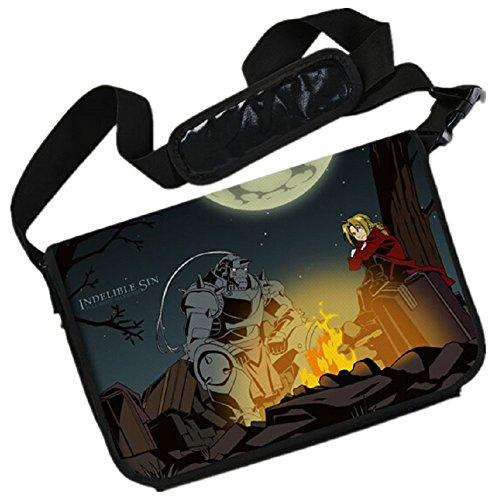 YOYOSHome Fullmetal Alchemist Anime Edward Elric Cosplay Messenger Bag Backpack Shoulder Bag - Alchemist Messenger Bag Full Metal