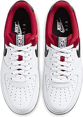 Zapatillas Nike Air Force 1 '07 LV8 BlancoRojo Hombre