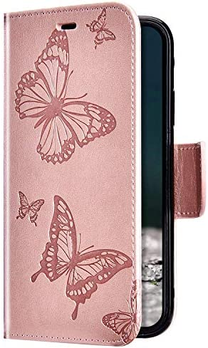 Schmetterling,Rose Gold