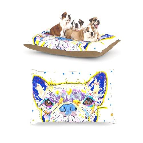 kess-inhouse-rebecca-fischer-niko-french-bulldog-dog-bed