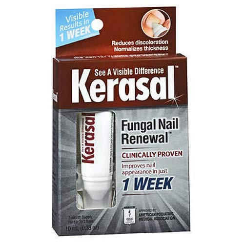 Kerasal Fungal Nail Renewal Treatment 0.33 Ounces Each (Value Pack of 5) by Kerasal