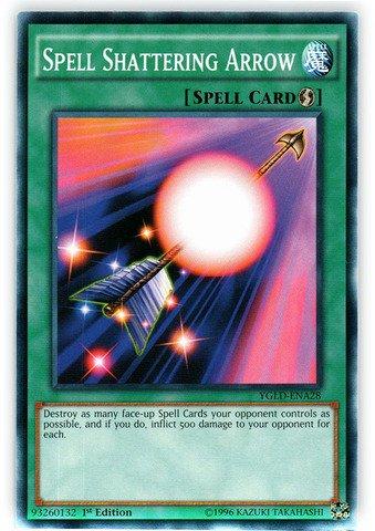 Yu-Gi-Oh! - Spell Shattering Arrow (YGLD-ENA28) - Yugi's Legendary Decks - 1st Edition - Common ()