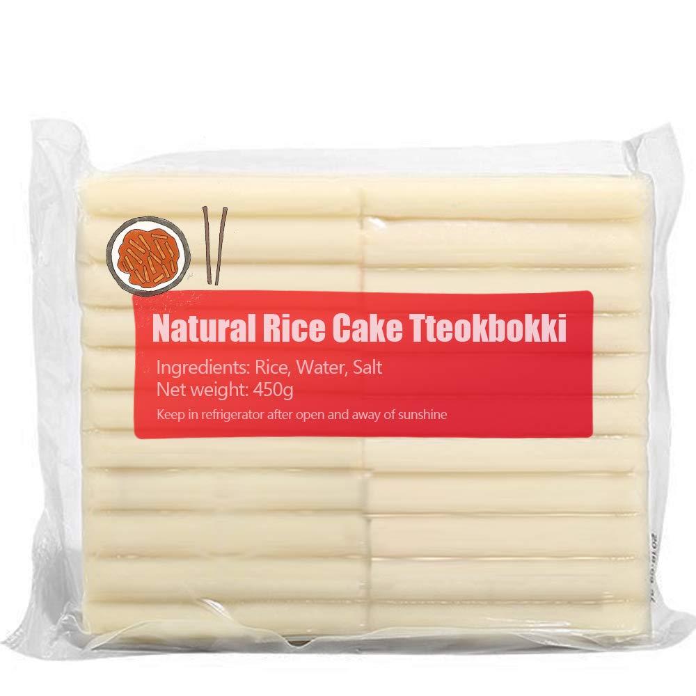 Natural Rice Cake Tteokbokki Topokki 450G