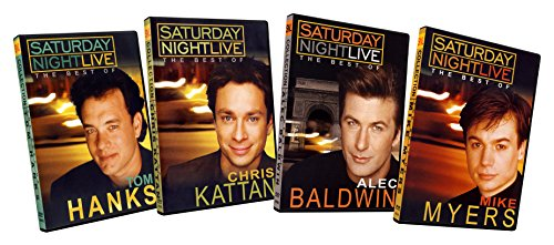 Saturday Night Live: The Best Of Tom Hanks / Chris Kattan / Alec Baldwin / Mike Myers Pack (4 Pack)