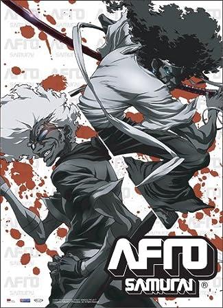 Afro Samurai Afro y Ninja Ninja Pergamino: Amazon.es ...