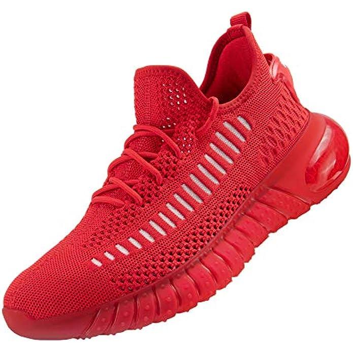 MOERDENG Women's Breathable Fashion Sneaker Damping Running Walking Shoes