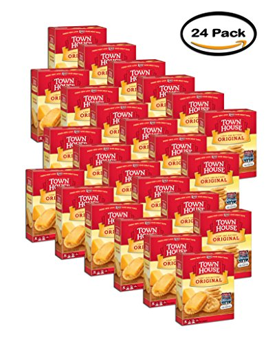 PACK OF 24 - Town House Crackers Original Light and Buttery, 13.8 OZ by Keebler
