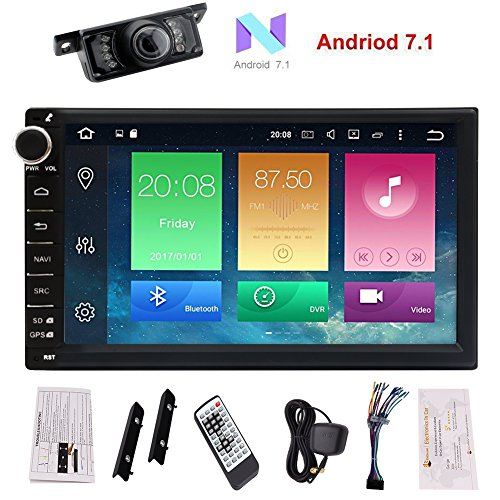 "Android 7.1 GPS Car Stereo - Eincar 7"" inch Double Din In Da"