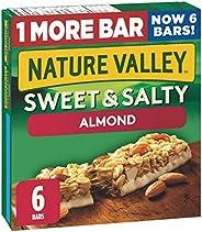 NATURE VALLEY Sweet & Salty Almond Granola Bars, 6 C