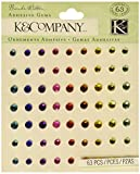 K&Company Brenda Walton Neapolitan Adhesive Rhinestones