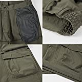 Vcansion Men's Outdoor Lightweight Quick Dry Hiking Shorts Sports Casual Shorts Khaki US 36