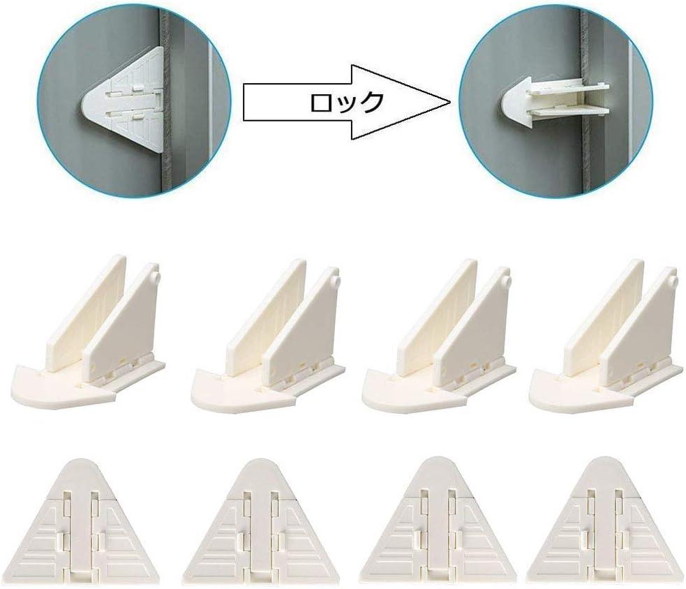 Popluxy - Lote de 8 cierres correderos con adhesivo 3M para puertas correderas de terraza, armarios y duchas: Amazon.es: Bricolaje y herramientas