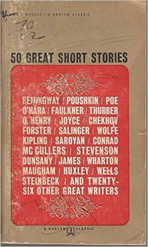 50 great short stories bantam classics