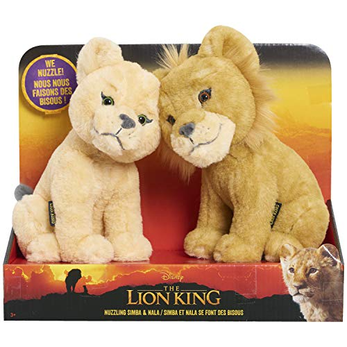 Lion King Touching Heads Plush Simba & Nala - Amazon Exclusive