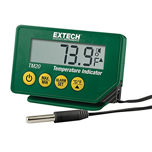 - Extech TM25 Waterproof Thermometer; 4.1