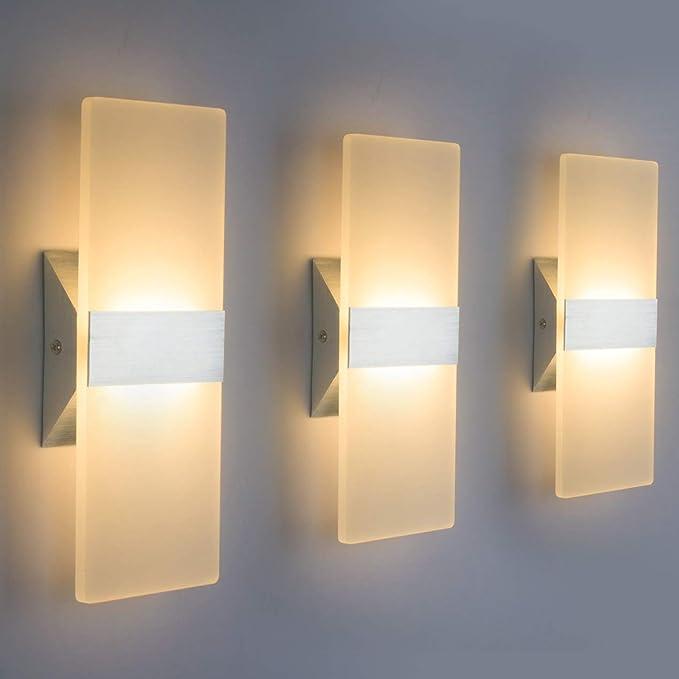 PADMA Foco LED de techo moderno con 4 focos 16 W 1600 lm orientable 3000 K oficina l/ámpara de cocina para dormitorio luz blanca c/álida habitaci/ón infantil estudio 80/% ahorro de energ/ía