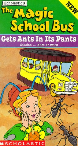 The Magic School Bus - Gets Ants in its Pants [VHS]