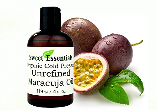 100% Pure Organic Cold Pressed Unrefined Virgin Maracuja Oil