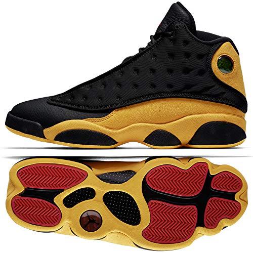 etro Men's Basketball Shoes Black University Red 414571 035 (10.5) ()
