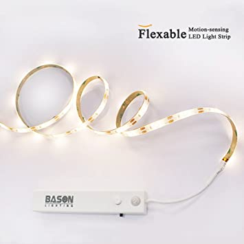 Amazon bason lighting aaa motion porch light led battery bason lighting aaa motion porch light led battery operated motion sensor night light strip wiresless bed mozeypictures Choice Image