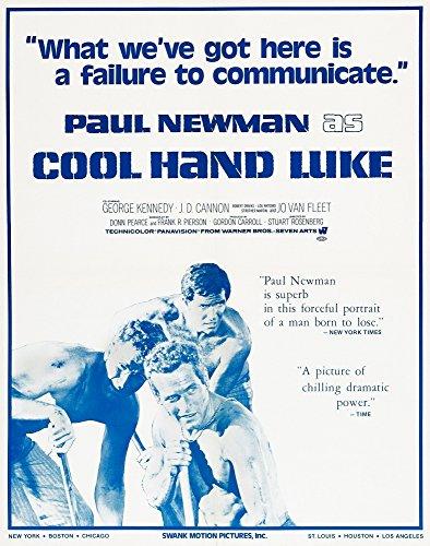 (Posterazzi EVCMCDCOHAEC023 Cool Hand Luke Movie Poster Masterprint 11 x 17 )