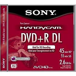Sony Dpr55dll1h 2.6 Gb Camcorder 8cm Dual Layer Dvd+r