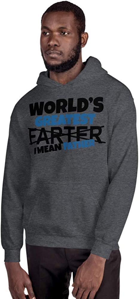 Mynimo Worlds Greatest Farter I Mean Father Dad Funny Gift Unisex Hoodie