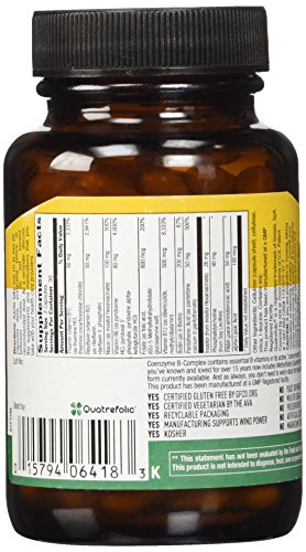 Country Life Coenzyme B Complex Caps