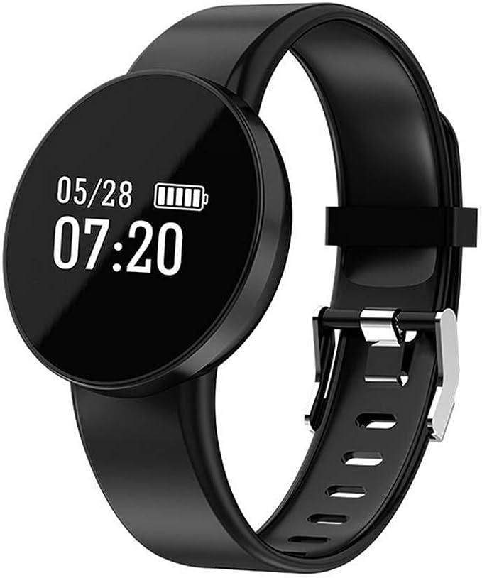 SHOUBIAO HD IPS Paso Pulsómetros/Monitoreo del sueño Monitores de Actividad/Reloj Deportivo Silicona El Baloncesto/Corriendo Volkswagen: Amazon.es: Deportes y aire libre