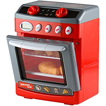 Amazon Com Kiddie Play Pretend Play Electronic Toy Oven