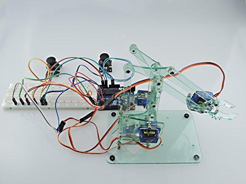 Sintron mini industrial robotic arm kit mechanic