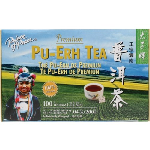 Prince Of Peace Tea Premium Pu-erh Tea, 100 teabags 035121