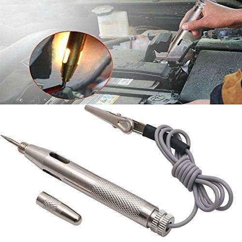 Aawsome 6V 12V 24V Auto Car Motorcycle Circuit Tester Gauge Test Voltmeter Light Hot