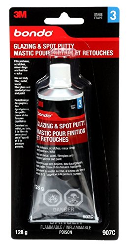 3M 1 Bondo 907 Glazing and Spot Putty - 4.5 oz.