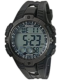 Marathon por Timex reloj tamaño completo, Negro/Gris, Una talla