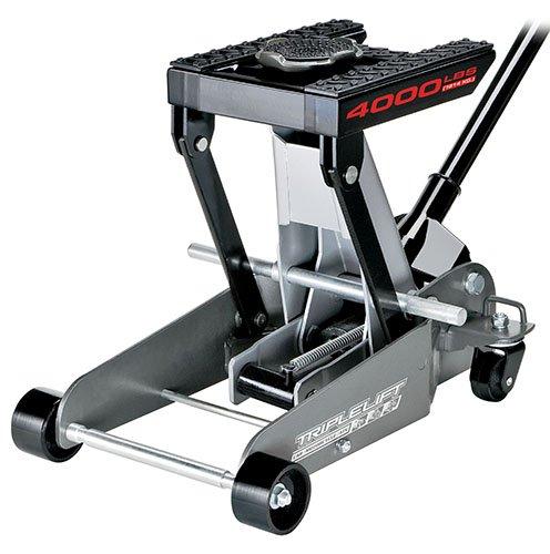 Powerbuilt 620422E Heavy Duty 4000 lb Triple Lift Jack by Alltrade
