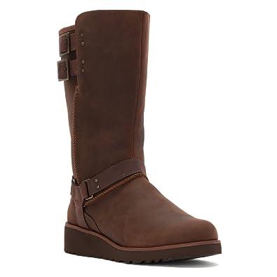 UGG Boots Womens - UGG Jasper Leather Chestnut