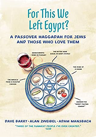 book cover of For This We Left Egypt?