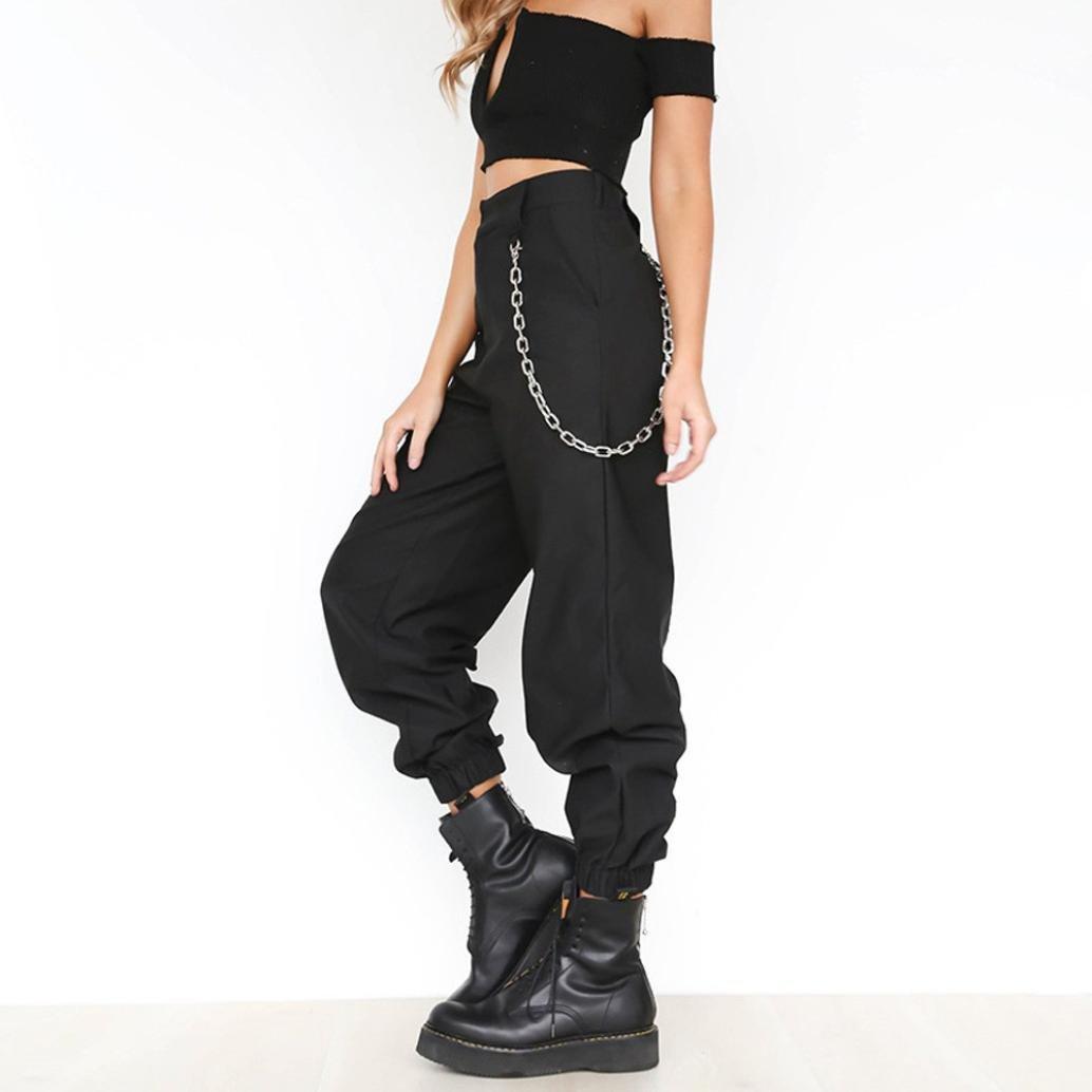 b53c44fe81e Pantalones Cargo Color SóLido Mujer LHWY